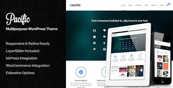 Pacific Responsive & Retina Ready All in One