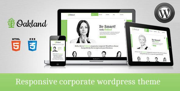 Oakland Premium Responsive WordPress Theme