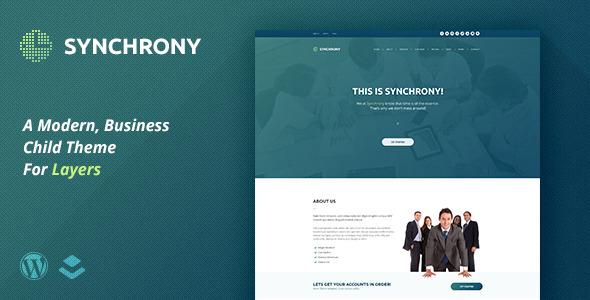 Synchrony | A Business Child Theme for Layers