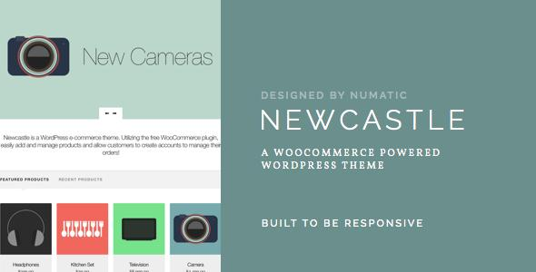 Newcastle A WooCommerce Powered WordPress Theme