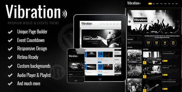 Vibration Responsive Music & Events Theme