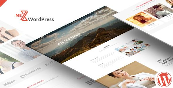 Mex Minimal One Page WordPress Theme
